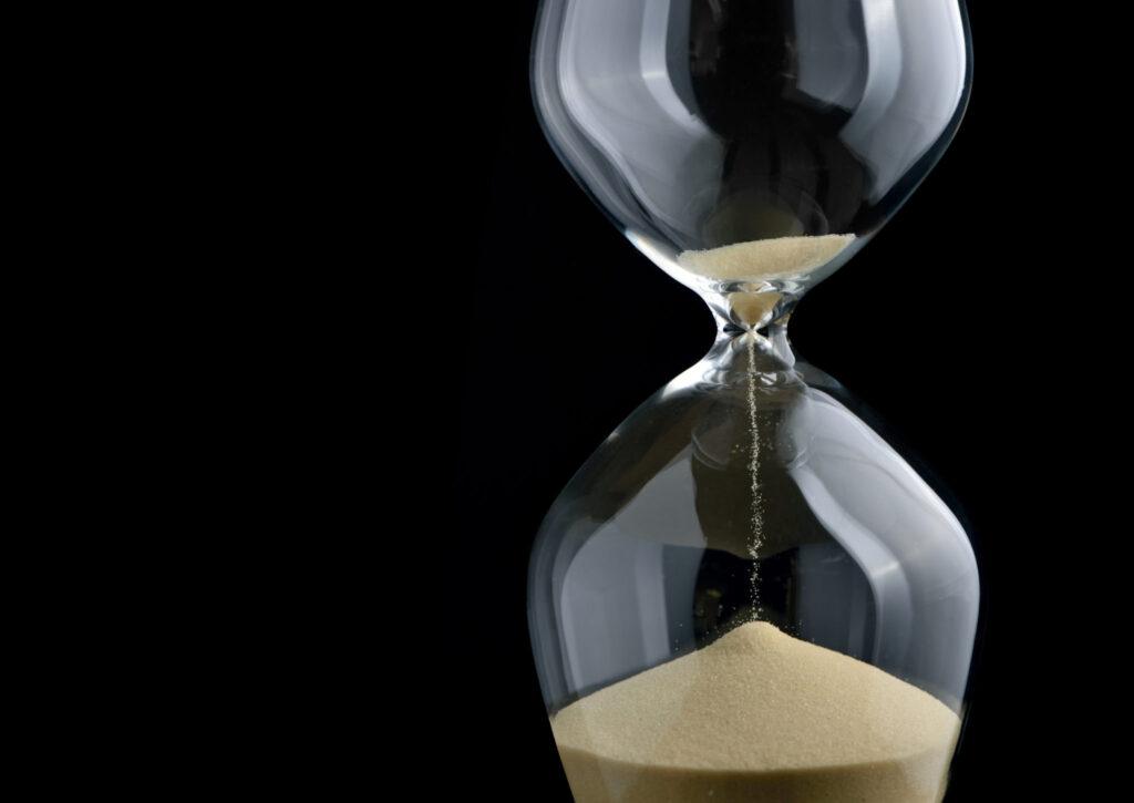 Reloj de arena - tiempos
